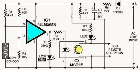 Tiny Dew Sensor Circuit Diagram Electronic Circuits