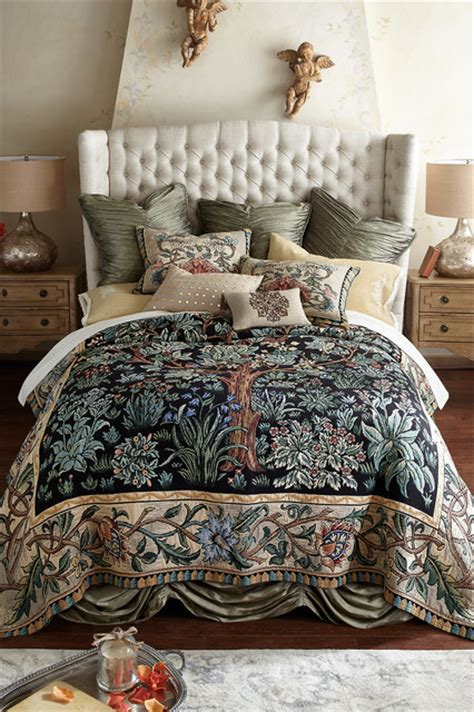 tree  life tapestry coverlet