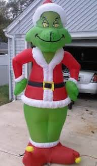 inflatable grinch inflatable christmas decorations