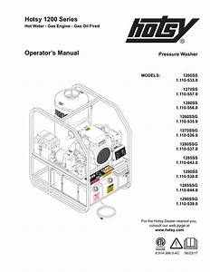 Hotsy Pressure Washer Wiring Diagram