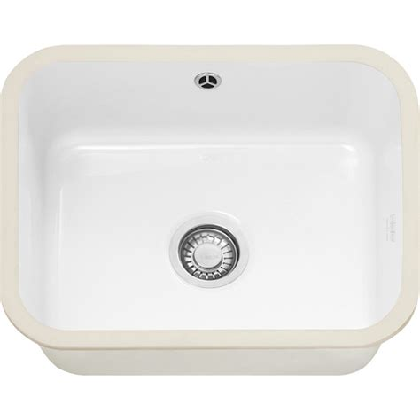 white ceramic kitchen sinks franke vbk110 50 ceramic white kitchen sink sinks 1275