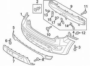 Kia Soul Moulding Rear   Rear  Rr    Bumper Upper Center