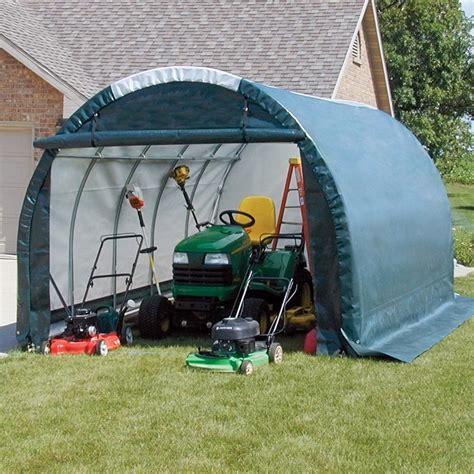clearspan mini garagestorage shed