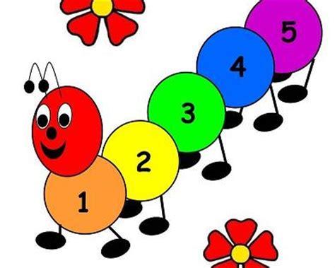 caterpillar counting game  preschool toolbox blog