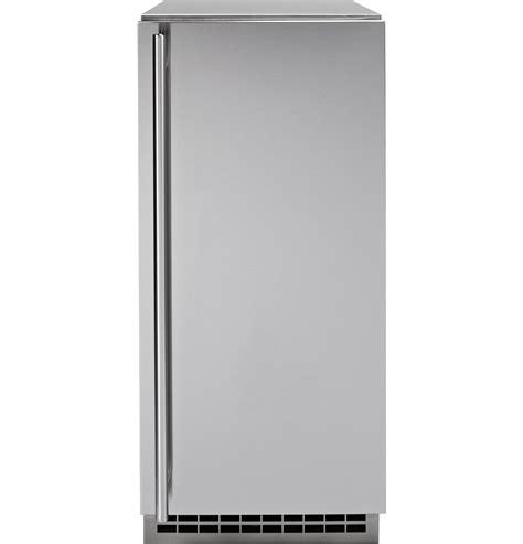 zipss monogram stainless steel ice maker door kit