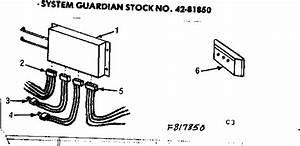 System Guardian Diagram  U0026 Parts List For Model 867817850