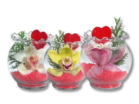 orchid 233 e dans un pot en verre 224 bords ondul 233 s lidl