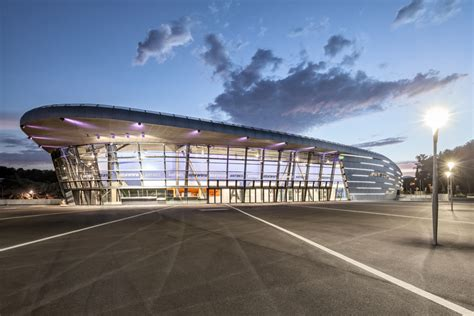 Azur Arena In Antibes by Azur Arena Antibes Auer Weber