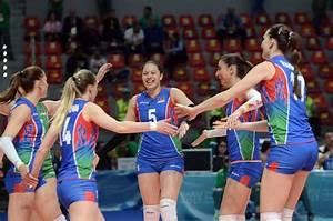Baku 2017: Azerbaijani female volleyball players ...