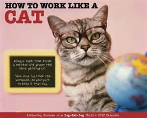 cat work 2012wlac calendar