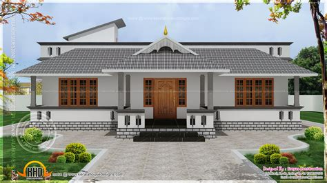 single level home designs january 2014 kerala home design and floor plans