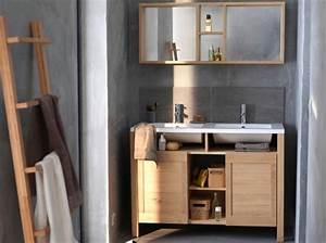 meuble 2 vasque salle de bain pas cher With modèle de meuble de salle de bain