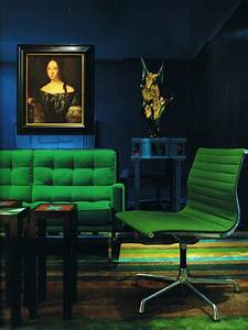 Color Scheme:Emerald Green and Sapphire Blue ECLECTIC