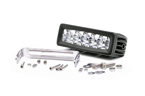 country 6 inch adjustable base mount cree led light bar