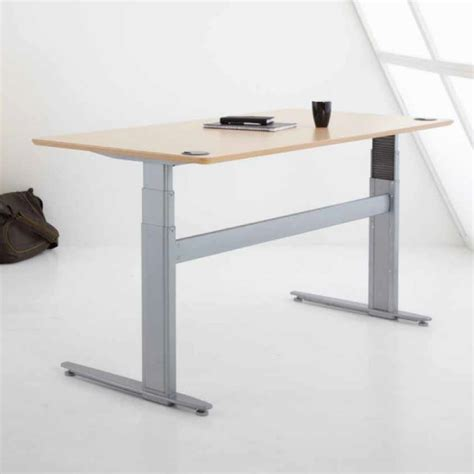Conset Desk 501 11 by Conset 501 29 Rectangular Sit Stand Desk