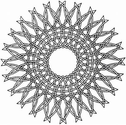 Coloring Pages Geometric Pattern Printable Adult Patterns