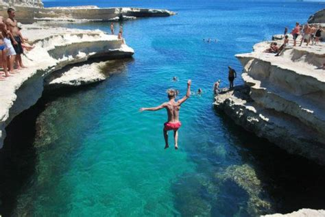 Tuffo Alla St. Peters Pool, Malta