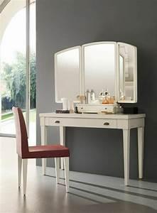 coiffeuse meuble pas cher coiffeuse duangle avec miroir With meuble coiffeuse avec miroir pas cher