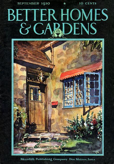 better homes garden magazine better homes and gardens 1930 09
