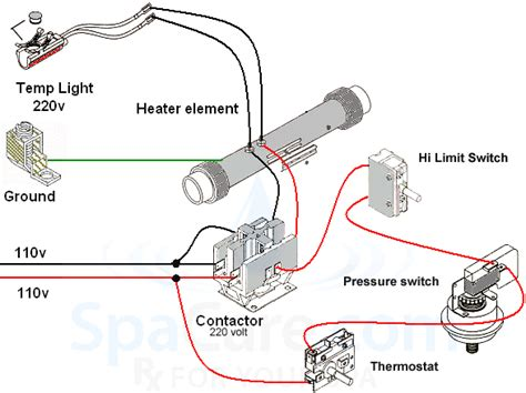 standard heater assembly kw  load contactor
