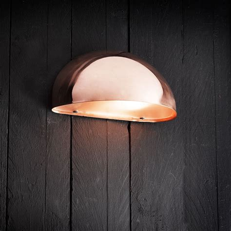 scorpius wall downlight copper lighting direct