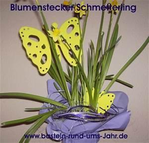 Basteln Für Den Sommer : blumenstecker moosgummi schmetterling basteln rund ums jahr ~ Buech-reservation.com Haus und Dekorationen