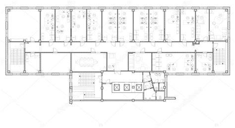 Immeuble De Bureaux De Plan — Photographie Andaleks3