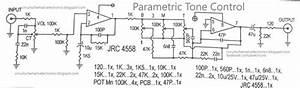 Parametric Tone Control Ic4558 And Pcb