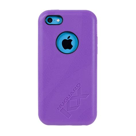 purple iphone 5c nuguard kx protective for iphone 5c purple