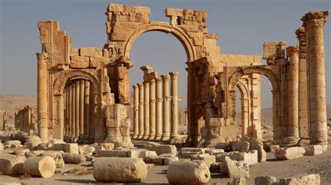 syrie palmyre  joyau antique abime par la guerre