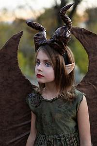 Young Maleficent: DIY Costume | DEAR LIZZY