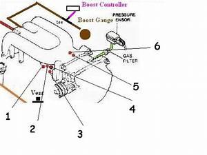 Single Turbo Vacuum Diagram