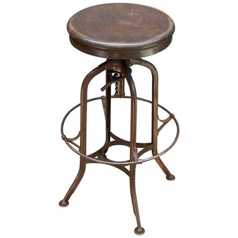 vintage toledo industrial factory workshop or bar stool