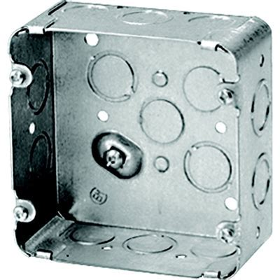 Iberville 4 11/16 in Square Box for Range or Dryer
