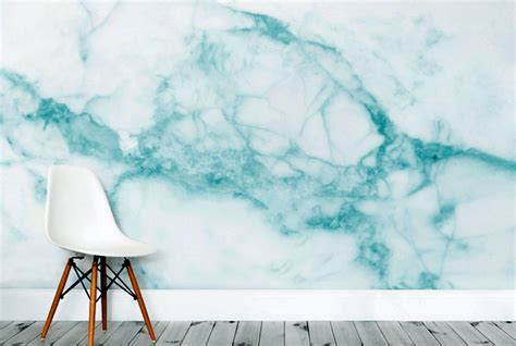 decorate  walls  murals wallpapers marble collection