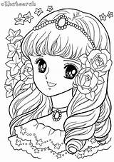 Coloring Colouring Flickr Anime Princess Khateerah Adult Para Japanese Kawaii Printable Disney Chibi Page64 Dibujos Pintar Drawings Manga Shojo рисунки sketch template