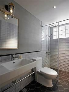Petite Salle De Bain Design : id e salle de bain moderne 60 id es comment la d corer ~ Dailycaller-alerts.com Idées de Décoration