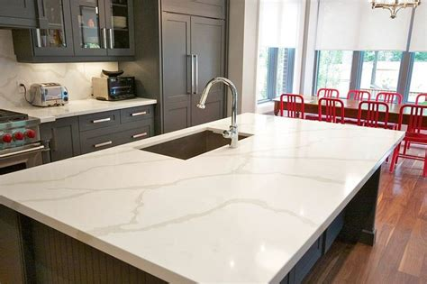 laminate bathroom countertops one calacatta quartz countertops