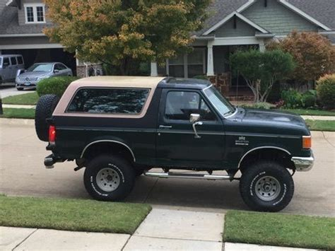 Ford Bronco Lift Kit by 1989 Ford Bronco Eddie Bauer 4 Quot Suspension And