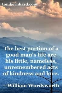 William Wordsworth Kindness Quote