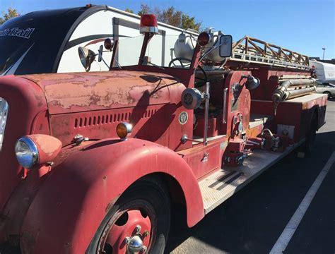 minute gift idea  seagrave fire truck