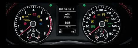 list  volkswagen dashboard warning lights  symbols