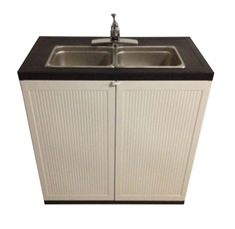 portable water sink home depot portable sink depot 2 compartment portable sink