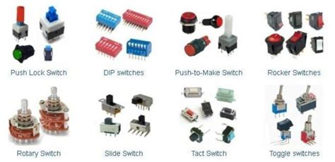 types of switches electrical electronics concepts electrical engineering books