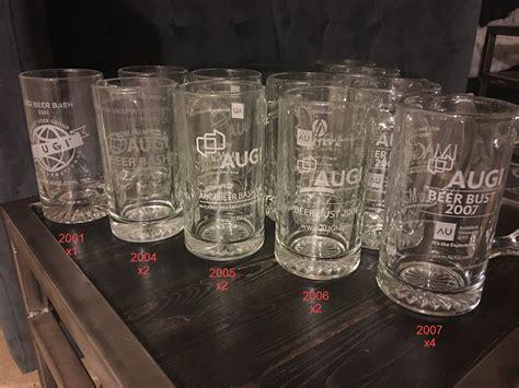 AUGI Beer Bash Glassware - Autodesk University - Revit news
