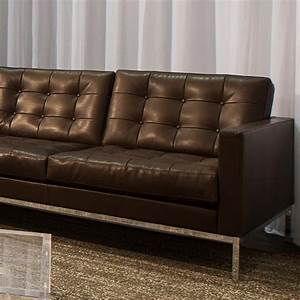 2 Sitzer Sofa : florence knoll relax 2 sitzer sofa knoll international ~ Indierocktalk.com Haus und Dekorationen