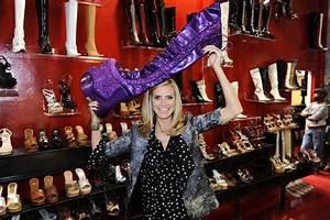 Schuhschrank Für High Heels : in high heels auf die zielgerade beim werbespot dreh f r schuhe zeigen heidi klums m dchen ob ~ Bigdaddyawards.com Haus und Dekorationen
