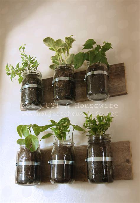 jar wall planter jar planter update risenmay