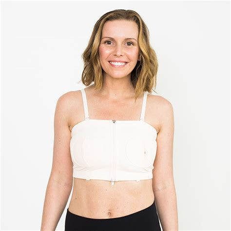 free pumping bra d lite hands free pumping bra pink simple wishes
