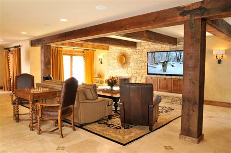 Rustic Lodgestyle Basement  Traditional  Basement  Dc. Best White For Kitchen Cabinets. Small Kitchen Designs Ideas. Modern Black And White Kitchen. Kitchens With Large Islands. Big Island Kitchen. Kitchen Drawer Organizing Ideas. White Kitchen Cabinets Dark Floors. Mini Kitchen Design Ideas